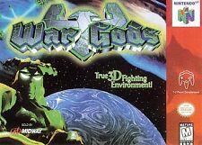War Gods Nintendo 64 N64 Authentic OEM Video Game Cart Original Kombat Fighting
