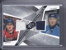 2008/2009 SPx  Hockey Alexander Ovechkin/Ilya Kovalchuk Winning Combos Jsy Card