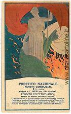 CARTOLINA d'Epoca - MILITARE:  PRESTITO NAZIONALE