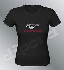 T-shirt passt Mustang S M L XL XXL frau GT500 shelby muskel car