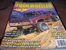 Four Wheeler Magazine Oct 1989 Power and Performance