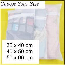 Multi Purpose Mesh Zip Bag Set for Travel, Home Storage, Washing Assorted Sizes