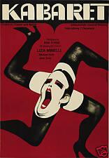 Cabaret Liza Minelli cult movie poster print
