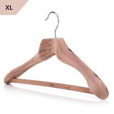Hangerworld™ 50cm Gruccia Legno Cedro Appendini Giacche Cappotti Appendiabiti