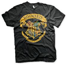 Harry Potter Hogwarts Wappen Schule für Zauberei und Hexerei Männer Men T-Shirt