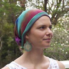 All Colours Bandana Wrap - Chemo Headwear - Headwrap -Chemo Hat - Cotton - Wrap
