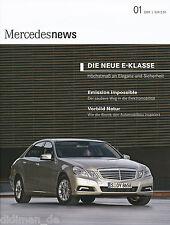 Mercedes News 1 2009 E250 CDI Coupé CLS 350 CGI E 350 CDI S 400 BlueHybrid SLK