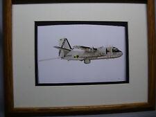 Grumman S 2E Tracker Aircraft Model Airplane Box Top Art Color artist