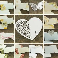 Platzkarten Tischkarten Namenskarten Tischkärtchen Platzhalter Hochzeit Taufe