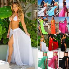 Damen Strand Rock Damenrock Sommer Cardigan Strickjacke Bikini Covers Bademode