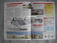 Aircraft of the World Card 37 , Group 14  - Hansa-Brandenburg W.12 & W.29