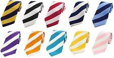 Bold Striped Silk Ties