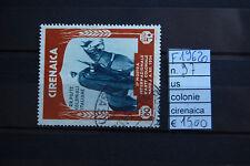 FRANCOBOLLI ITALIA COLONIE CIRENAICA USATI N°97(F19620)