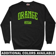Orange County Sweatshirt - Santa Ana UCI Anteaters Irvine Crewneck - Men S-3XL