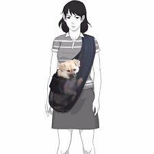 Foldable Mesh Dog Cat Pet Crossbody Carrier Sling Shoulder Bag Small Size