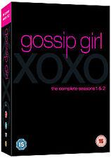 Gossip Girl - Series 1-2 - Complete (DVD, 2009, 11-Disc Set, Bo - Good Condition