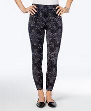 First Looks Bandana Floral Seamless Leggings Black