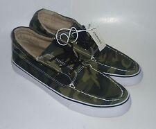 Mens AEROPOSTALE Mid-Top Camo Boat Shoes NWT #8904