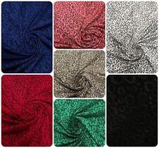 Polyester Acetate Slinky Spandex Fukuro Jacquard Texture Fabric w/ Circle Dots