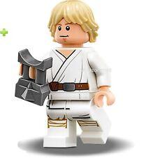 LEGO STAR WARS TATOOINE LUKE SKYWALKER FIGURE + GIFT - 75159,75173 - 2016 - NEW