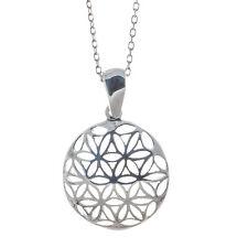 Anhänger Blume des Lebens Lebensblume mit Silberkette 925 Silber Bella Carina