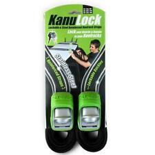 NEW Pro Kayaks Kanu Lock - Lockable & Steel Reinforced Roofrack Straps