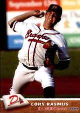 2009 Danville Braves Grandstand 28 Cory Rasmus Phenix City Alabama Baseball Card
