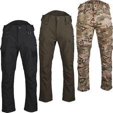 MIL-TEC Softshell Pantaloni Assault RANGER GREEN termica