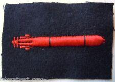 Marine insigne spécialité TORPILLEUR (sous-marins) ORIGINAL FRENCH NAVY PATCH