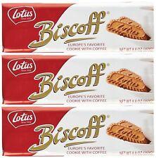 Sweet Cookie Biscoff Cookies 8.8 oz 3 Packs 32 Each, Lotus Biscuits Yummy Snack