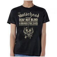 MOTORHEAD - Deaf Not Blind - T SHIRT S-M-L-XL-2XL Brand New Official T Shirt