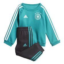 Adidas dfb away 3 rayas Baby JOGGER Alemania verde/negro WM 2018 [cf2475]