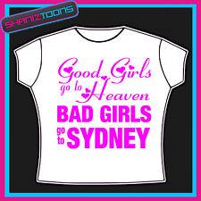 Sydney Niñas vacaciones Hen party Impreso Camiseta