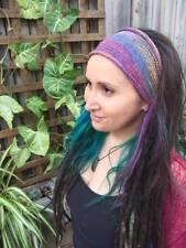 Nepalese Dreadlocks Headband Braids Accessory Double Long Sock Dreadlocks Hippie