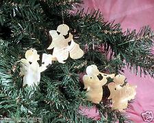 Engel aus echtem Perlmutt, Baumschmuck Weihnachtsdeko Advent Deko Weihnachtsbaum