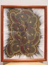 VINTAGE ABSTRACT ART AUSTRALIAN ABORIGINAL BLACKY MBITJANA FINE OCEANIA PAINTING