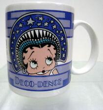 New Betty Boop Deco-Dence Ceramic Decal Collector Mug by Vandor Bimbo