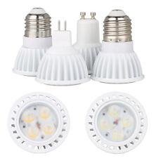 8W Dimmable 3030 SMD LED SpotLight E27 GU10 MR16 Bulbs Lamp AC 220V DC 12V White