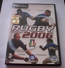 RUGBY Challenge 2006 gioco pc originale completo ITA