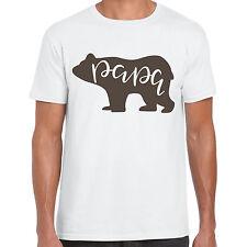 Papà ORSO-Uomo T Shirt-Regalo Divertente Tee
