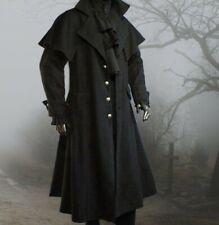 Gothic Mittelalter Kutscher Mantel Van Helsing Vampir Box Coat M L XL XXL XXXL