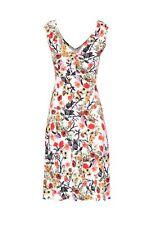 Marcella Jersey Sleeveless Dress - Spring/ Summer - Print Dress - Yellow Dress