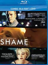 NEW  BLU RAY+DVD  --  SHAME - Michael Fassbender, Carey Mulligan, James Badge Da