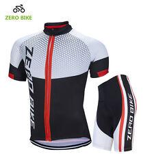 Men Cycling Bike Bicycle Sports Clothing Short Sleeve Jersey Pants Wear Suit Kit