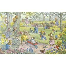 Teddy Bear Garden - Molly Brett Print