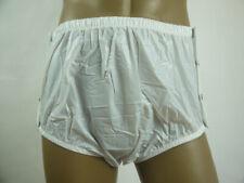 1 pairs * New  ADULT   PLASTIC PANTS  PVC  incontinence # P004-1