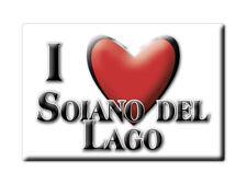 CALAMITA LOMBARDIA FRIDGE MAGNET MAGNETE SOUVENIR LOVE SOIANO DEL LAGO (BS)