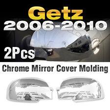 Chrome Mirror Cover Garnish Molding Trim A738 For 2006 - 2010 HYUNDAI Getz