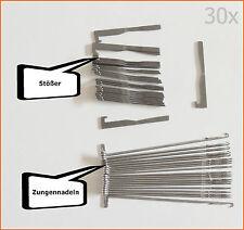 30Stück gebrauchte Zungennadeln Stößer für Pfaff & Passap Duo & Passap 12