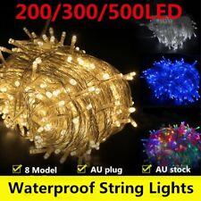 Solar/Battery 100-500LED Waterproof Christmas Fairy String Lights Wedding Garden